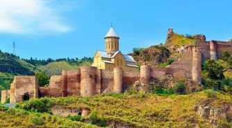 Крепость Нарикала в Тбилиси