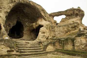 Уплисцихе - пещерный город с трехтысячелетней историей