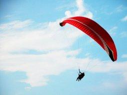 Полет на параплане над Тбилиси