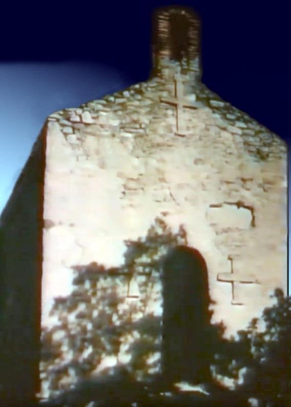 Раннесредневековый храм в Касри. Построен эрисмтавари Арчилом в VIII веке. Многократно разрушался, восстанавливался, и сохранился лишь фрагментно. Храм на фото был восстановлен в 1912 году священником Михеилом Кулошвили. В настоящий момент так же разрушен.