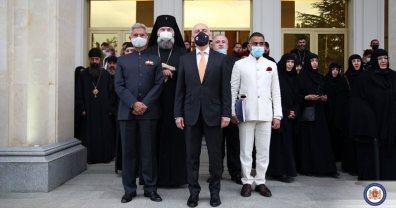 Мощи грузинской царицы-мученицы Кетеван доставлены из Индии в Тбилиси