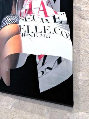 ELLE UK de juin 2013, Réinterprétation dimensionnelle n° r_409, tirage sur toile, 95 x 120 cm, détail