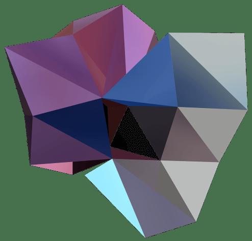 """""""RER C, II"""", Réinterprétation dimensionnelle n° r_377-2 c4, 2016"""