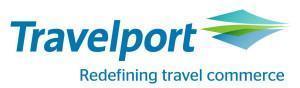 Logo Travelport - Redefining travel commerce