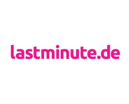 lastminute.de Logo Webseite