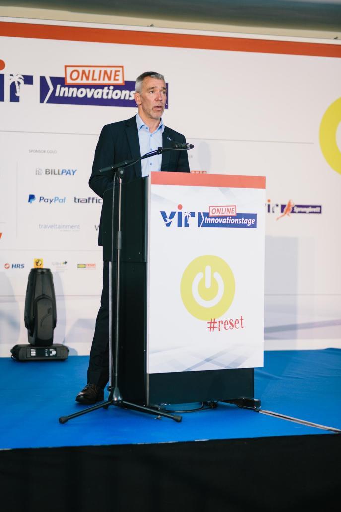Moderator Gereon Krahn