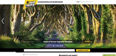 Webseite Hip Trips