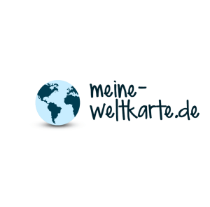 meine Weltkarte Logo