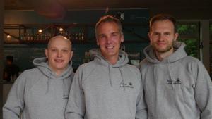 Das Team von Meine Landausflüge: Alexander Nosov, Dr. Florian Berthold und Patrick Kuhlmann (von links nach rechts)