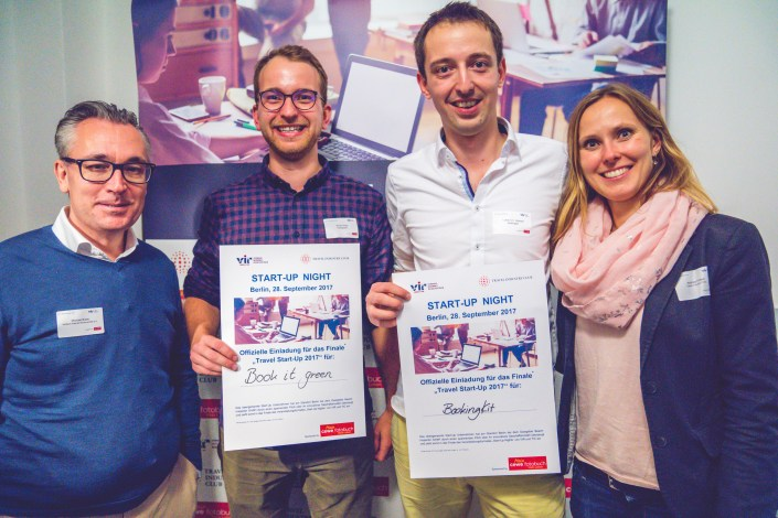 Gewinner Start-up Night Berliln