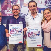 Gewinner Start-up Night Berliln