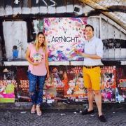 David Neisinger und Aimie Sarah Henze ArtNight