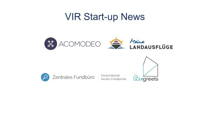 VIR Start-up News Q2 2018