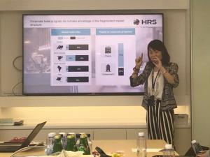Evy Zhao von HRS erläutert den chinesischen Geschäftsreisemarkt