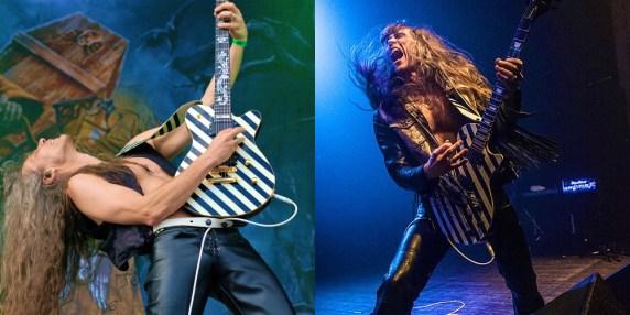 Axel Ritt von der Metal-Band GRAVE DIGGER
