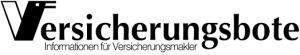 Logo des Magazins Versicherungsbote, der über V-Quiz die erste Weiterbildungsapp berichtet, mit der gemäß IDD (Cicero und gut beraten) Weiterbildungsstunden aufgebaut werden.