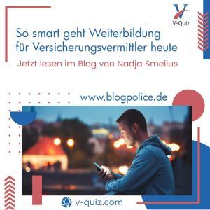 Blog von Nadja Smeilus - über V-Quiz