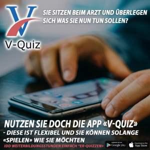 Mit der IDD zertifizierten APP von V-Quiz professionell Weiterbildungszeit erlangen