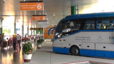Автовокзал Suvarnabhumi Bus Terminal в Бангкоке