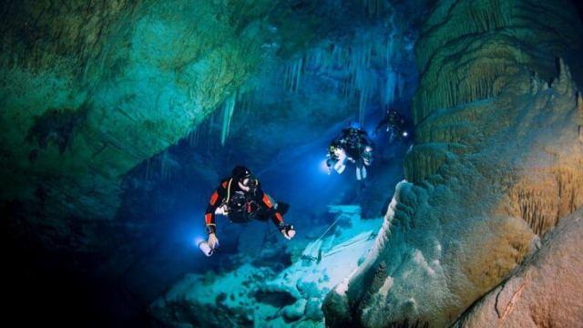 Пещерный дайвинг в Тайланде