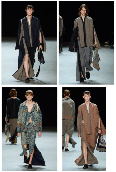 Craig Green. A British ready-to-wear designer who has been instrumental in leading men's fashion in the past year