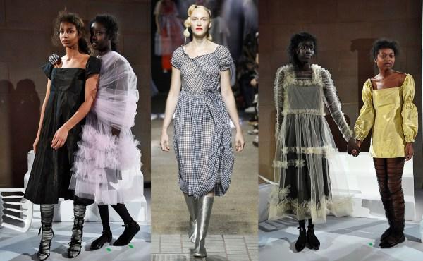 Molly Goddard. A winner of British Fashion Awards 2016