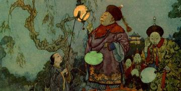Edmund Dulac's illustration