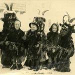 Winter carnival of Krampus