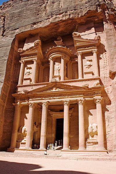 صور مدينة البتراء احد عجائب الدنيا السبع