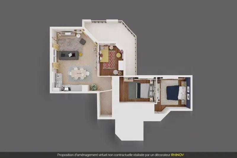 Vente Appartement 4 pièces 78m² La Garenne Colombes