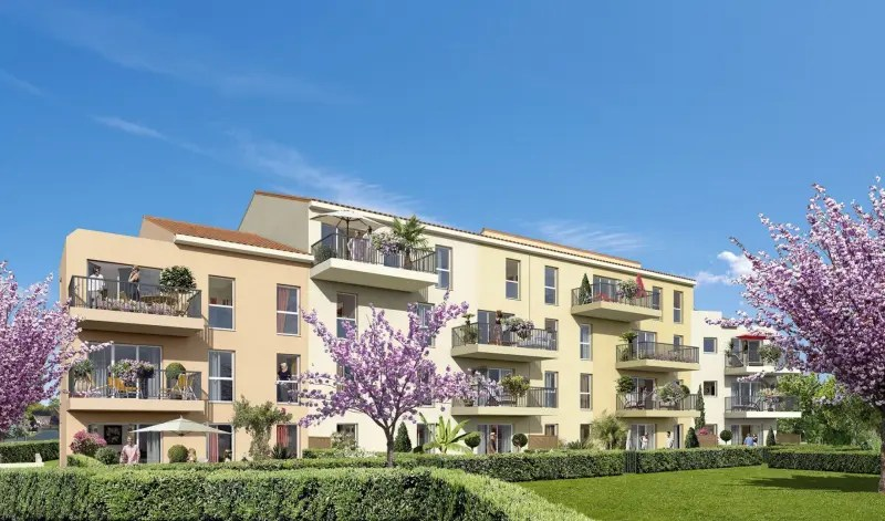Clos Village Programme Immobilier Neuf Marseille 11me