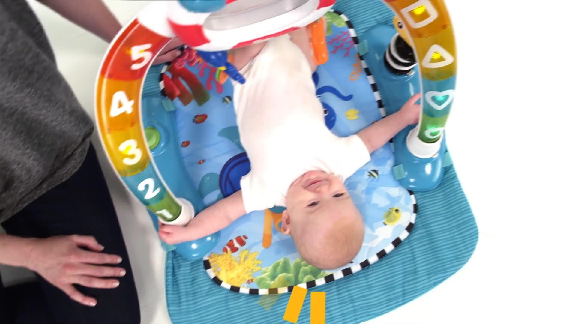 Baby Einstein 2 In 1 Lights Amp Sea Activity Gym Amp Saucer