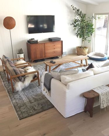 Furniture on budget for apartment living room 33