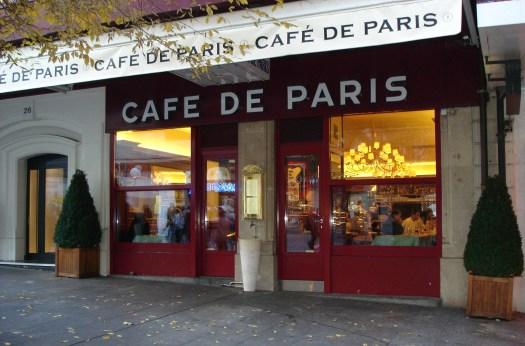 「cafe de paris geneva」的圖片搜尋結果