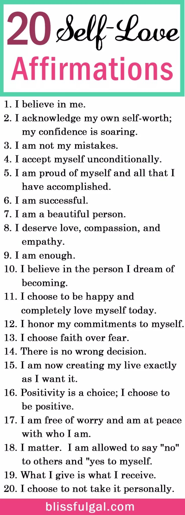 9,932 Positive Affirmations: Your Daily List of Simple Mantras