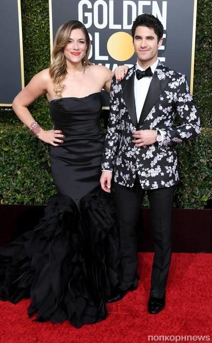 Даррен Крисс со своей девушкой