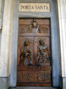 Porta Santa (Holy Door) at St Mary Major