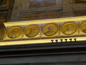 Pope mosaics