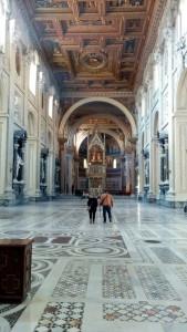 Inside St John Lateran