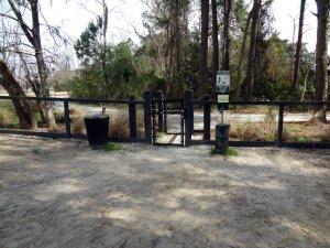Governors Park dog park other entrance