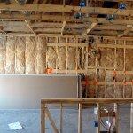 Kitchen wall insulation