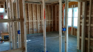 Where the master bedroom will be