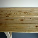 Workbench top from above