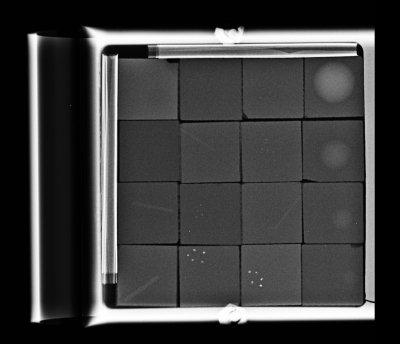 Old RMI mammography phantom SN 152-1015