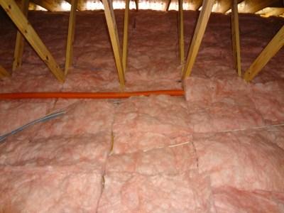 Garage insulation all done