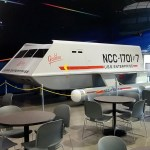 Shuttlecraft Galileo at the Space Center Houston food court