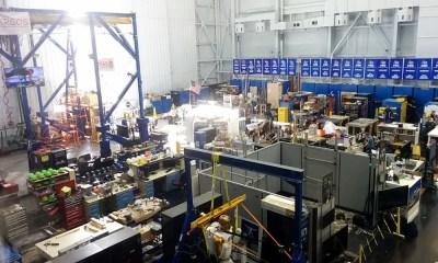 Robotics area at the Space Vehicle Mockup Facility