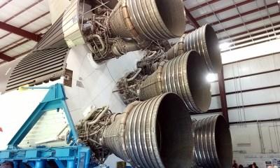 Saturn V main engines
