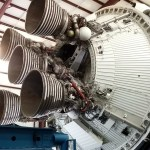 Saturn V second stage engines
