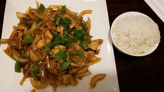 Thai East Fusion Basil Chicken